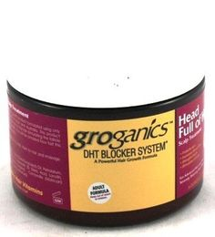 Groganic DHT Head Full Of Hair Treatment 6 oz. (Case of 6) >>> Click on the image for additional details.