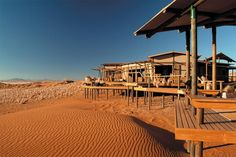 Wolwedans Dunes Lodge, Namibia - combine this with a hot air balloon safari to see sunrise over the surrounding dune-scape for an unforgettable experience! Hotels And Resorts, Best Hotels, Amazing Hotels, Dune, Road Trip, Namibia, Dark Skies, African Safari, Vacation Packages