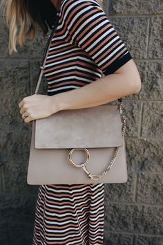 Gray Chloe Bag | LA Fashion Blog | www.TakeAim.nu