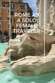 Solo Travel to Rome Solo Travel Europe, Europe Travel Outfits, Solo Travel Tips, Europe Travel Guide, Rome Travel, Italy Travel, Travel Usa, European Destination, Travel Memories