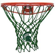 Krazy Netz Michigan State University Green Net Basketball Net - KNL3405