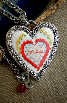 Portugal MOTHERS DAY Necklace MAE Sweetheart by Atrio on Etsy,