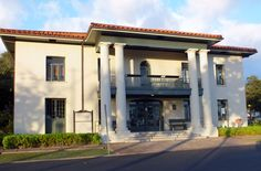 Old Lahaina Court House accross from the Harbor now a museum.