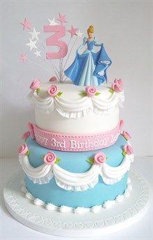 Inspiration | docrafts.com Barbie Birthday Cake, Butterfly Birthday Cakes, 4th Birthday Cakes, Cinderella Birthday, Christmas Cake Decorations, Cake Gallery, Celebration Cakes, Party Cakes, Cake Decorating