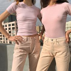 Just scored multiple sizes of dead stock hand dyed light pink 501 Levi's. Due to the hand dyed process, each piece will vary slightly in… Look Fashion, Fashion Outfits, Womens Fashion, Japonesas Hot, We Wear, How To Wear, How To Pose, Future Fashion, Editorial Fashion