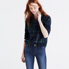 medium Madewell+-+Flannel+Ex-Boyfriend+Shirt+in+Ontario+Plaid