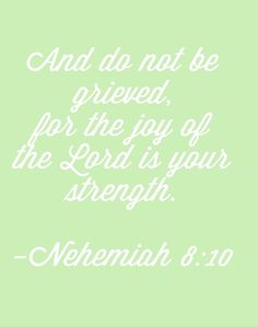 Nehemiah 8:10