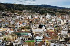Ambato presenta una vista hermosa. Ecuador #Ecuador #CuatroMundosdePlenasSensaciones