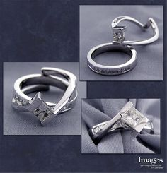 interlocking wedding set wedding ring humpday - Interlocking Wedding Rings
