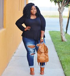 Plus Size Fashion - LACE N LEOPARD: Perfect Pair