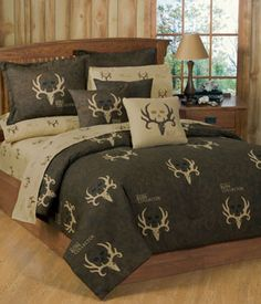 SouthernSistersDesigns.com - Bone Collector Comforter Bedding Set, $74.95 (http://www.southernsistersdesigns.com/bone-collector-comforter-and-sham-set/)