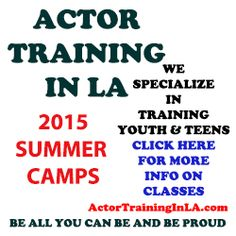 Hollywood Acting Camp 2015 - check out the child star students!