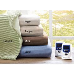 Beautyrest Ribbed Microfleece King-size Heated Blanket | Overstock™ Shopping - The Best Prices on Simmons Beautyrest Heated & Electric Blankets