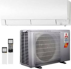 An Introduction To Ductless Air Conditioners: An a/c, which is usually called Air Conditioning (in the United States and also Canada), or an air-con Ductless Ac Unit, Rotary Compressor, Drain Pipes, Ac System, Electrical Energy, Ac Units, Air Conditioners, Lose Weight In A Week, Bucket Air Conditioner