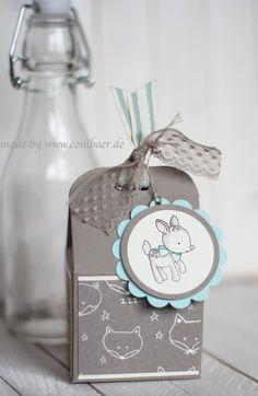 """conibaer.de - small gift """"made with love"""" / kleines geschenk """"Zum Nachwuchs"""""""