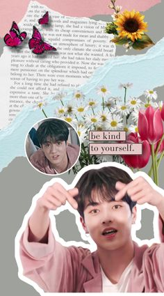 Saranghae, Addicted To You, Be Kind To Yourself, Novels, Kpop, Wallpaper, Ice Cream, No Churn Ice Cream, Wallpapers