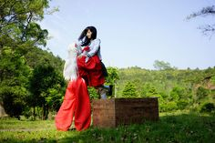 Inuyasha Characters Cosplay-----A Love Triangle