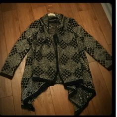 NWT $240 BCBG cardigan NWT. Never worn. BCBG MaxAzria sweater cardigan. Very warm and comfortable. Has pockets. BCBGMaxAzria Sweaters Cardigans