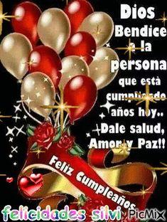 Spanish Birthday Wishes, Happy Birthday Wishes Photos, Birthday Wishes For Daughter, Happy Birthday Celebration, Happy Birthday Wishes Cards, Happy Birthday Video, Birthday Wishes Quotes, Birthday Greetings, Happy Birthday Beautiful