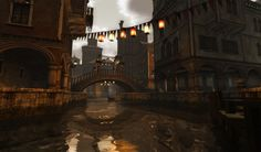 SLifeFantastic!: A gothic interpration of Venice, Italy in Second Life - Venexia