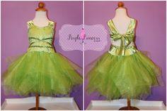 Tinkerbell inspirado mameluco vestido Peter Pan Vestido de princesa de Disney Vestido de traje traje de cumpleaños Elsa Ana nieve blanca bella Tiana