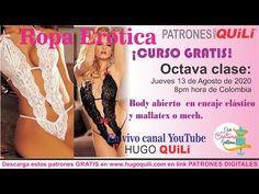 CURSO DE ROPA ERÓTICA CLASE 8 BODY EN ENCAJE ELÁSTICO. DESCARGA PATRÓN GRATIS. www.hugoquili.com - YouTube Body, Bikinis, Swimwear, Youtube, Fashion, Stretch Lace, Sewing Tutorials, Free Pattern, Underwear