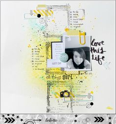 Love this life Scrapbooking Layouts, Scrapbook Pages, Lay Outs, Love, Selfies, Custom Design, Therapy, Challenges, Collage
