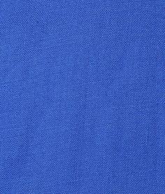 matière / tissu en lin bleu
