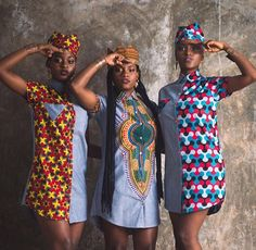 AfroMods Nyoru Collection and best African fabric - Reny styles African Dresses For Women, African Print Dresses, African Attire, African Wear, African Fashion Dresses, African Women, African Style, African Prints, Ghanaian Fashion