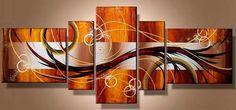 cuadros pintados  moderno abstractos nuevos