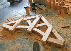 Image result for timber frame sawhorse