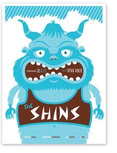 Gig Poster: The Shins