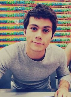 Dylan O' Brien, he's as cute as a kitten. No wait, he's cuter than that. He's as cute as a puppy. No, cuter. What's cuter than a puppy? I'll tell you what it is- Dylan O'Brien.
