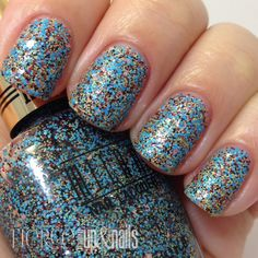 **Milani - Sugar Rim (Gold Label Specialty Nail Lacquer Collection Spring 2014) / FierceMakeupAndNails
