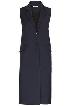 Long coat vest S 100 Women Jacken