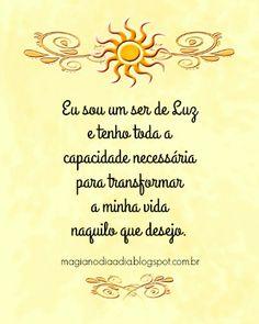 Magia no Dia a Dia: Afirmação Positiva http://magianodiaadia.blogspot.com.br/2016/11/afirmacao-positiva_27.html