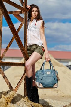 """Bag Modell """"Mizar"""" Very soft and cool casual bag for shopping, sports time or anywhere you want to go. Mizar, your helping hand in each situation!  ♥"""