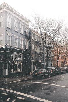 """Snowy NYC | ( by Arin ) """