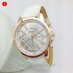 Automatic Watches High Quality New Geneva Women'S Watches Quartz Relogio Roman Numerals Faux Leather Analog Wrist Watch Shoes Online Shopping From Mychinawholesaler, $1.62| Dhgate.Com