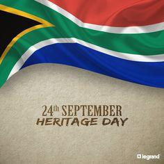 Happy Heritage Day for tomorrow - September