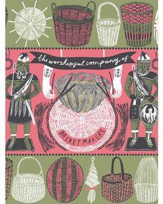'Worshipful Company of Basketmakers' Limited Edition Print by Alice Pattullo at Soma Gallery