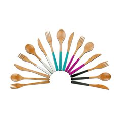 Bamboo Wood Cutlery by Core Bamboo
