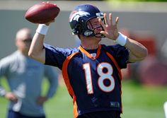 To me, Peyton looks fantastic in orange an blue, but then again I bleed those colors.