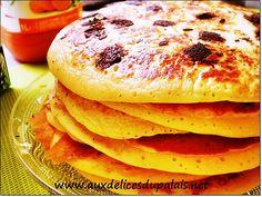 Recette pancake facile & inratable ;  Salam allaicom, bonjour, les Pancakes qui ne raffole pas de ces délicieuses petites douceurs épaisses et moelleuses…