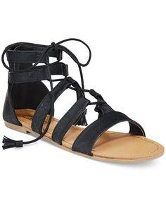fcc753c6d10c XOXO Imogen Flat Gladiator Sandals   Reviews - Sandals   Flip Flops - Shoes  - Macy s