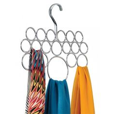 Super Useful Way of Keeping Your Scarves and Belts in One Place?