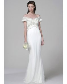 The 2013 Marchesa Bridal collection is a treasure trove of beautiful gowns - this is what bridal couture is all about. Marchesa Wedding Dress, Marchesa Bridal, Wedding Dress 2013, White Wedding Dresses, Wedding Dress Styles, Bridal Dresses, Wedding Gowns, Marchesa Spring, Bridesmaid Dresses