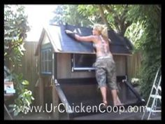 How To Build a Chicken Coop Video