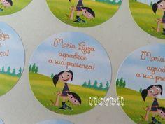 Etiqueta de agradecimento - O Show da Luna  :: flavoli.net - Papelaria Personalizada :: Contato: (21) 98-836-0113 - Também no WhatsApp! vendas@flavoli.net
