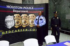 SPO M Slade of the Recruiting Unit. Call 713-308-1300 for more information about joining HPD.